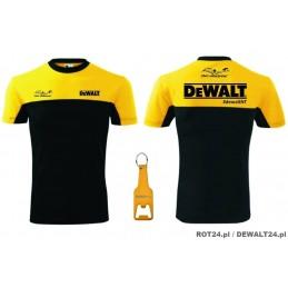 (L) Koszulka czarno-żółta +...
